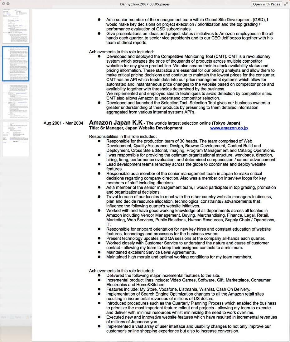 Danny choo how to write a resume sample resume for computer technician